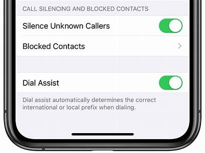 Unknown Iphone Callers Silence Call Silencing Ios