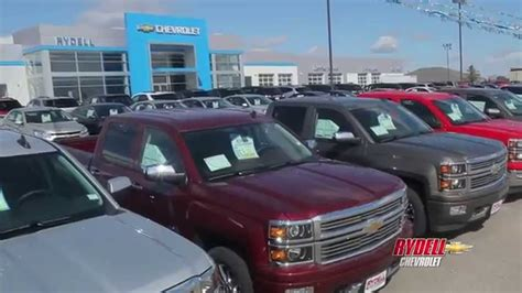 Truck Month At Rydell Chevrolet In Waterloo! Youtube