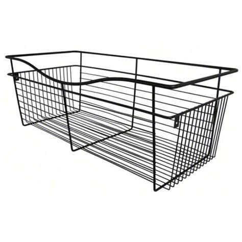 rev a shelf cb 301618orb 1 wire basket 16ind closet