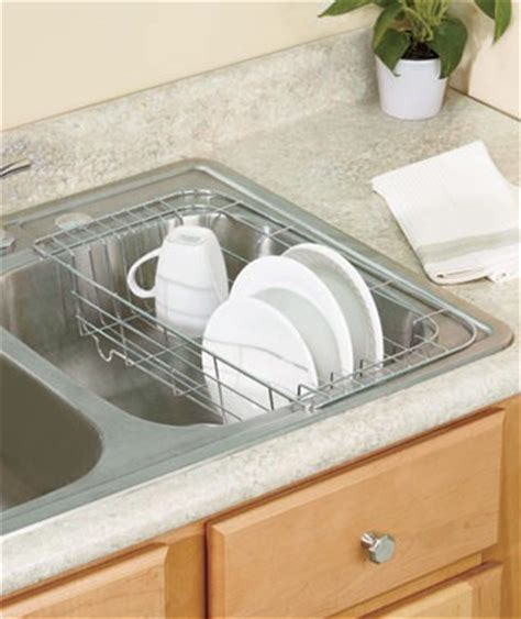 in sink dish drying rack new in sink hanging dish drying rack chrome or white