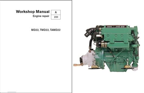 volvo penta md tmd tamd marine engines service
