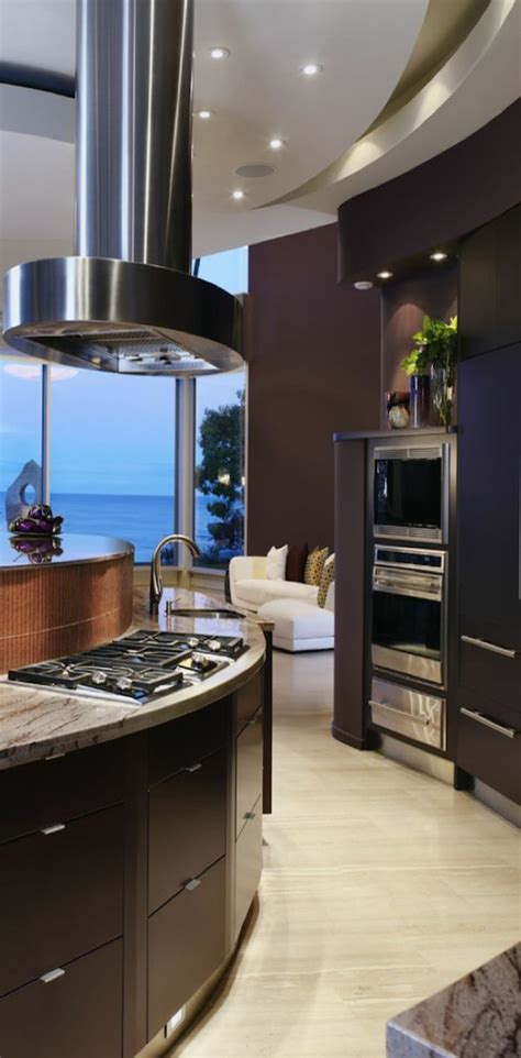 ilot dans cuisine deco cuisine moderne