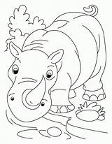 Coloring Pages Rhinoceros Rhino Printable Cartoon Rhinos Owl Animals Nose Drawing Colouring Snowy Spiderman Horned Animal Preschool Endangered Bestcoloringpagesforkids Adult sketch template