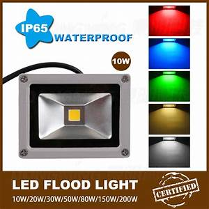 new 35pcs lot rgb dc 12 volt led flood light 10w best With 12 volt outdoor lighting ac or dc