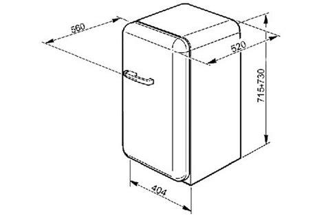 comparatif cuisine dimensions frigo