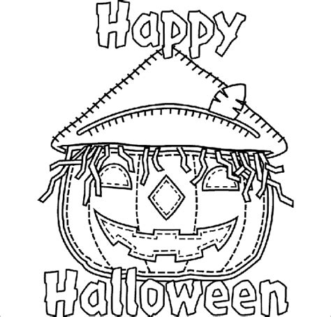 halloween coloring pages  png  premium