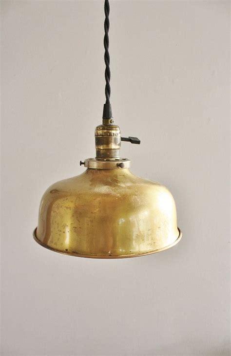 antique brass pendant light fixture home style pendant