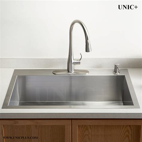 kitchen sink vancouver 30 inch zero radius stainless steel top mount kitchen sink 2959