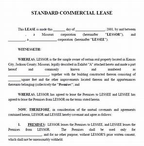 lease agreement commercial property template property With lease for commercial property template