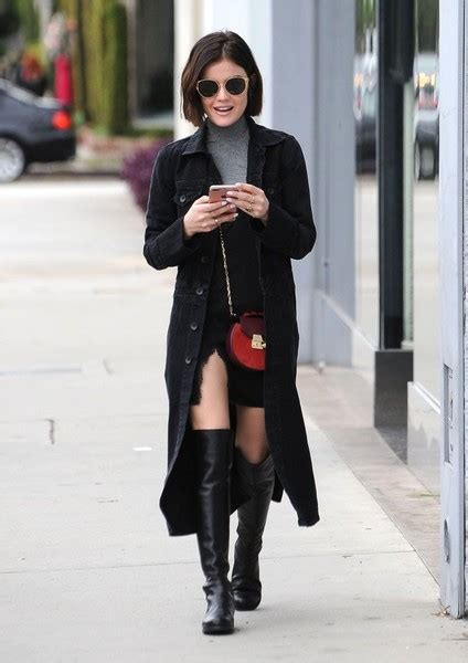The Cutest Looks from Lucy Hale Street Style