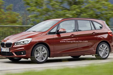 bmw minivan 2014 bmw 2er gran tourer 2015 entwürfe zum siebensitzer van
