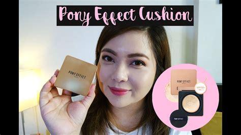 cushion pony effect foundation