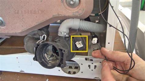 waschmaschine pumpt nicht richtig ab bauknecht waschmaschine pumpt nicht ab pumpe wechseln