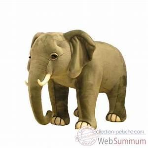 Peluche Geante Elephant : geant wwf elephant 75 cm 23 193 003 dans peluche g ante sur collection peluche ~ Teatrodelosmanantiales.com Idées de Décoration