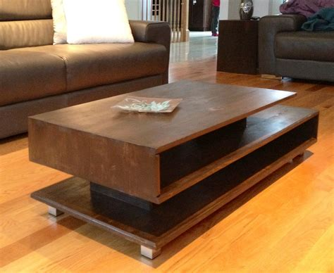 living room table sets with storage modern rustic coffee table