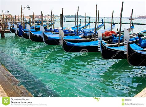 Boat Prices In Venice by Gondola Boats In Venice Stock Photography Image 7134282