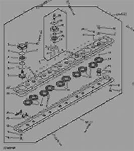 Cutterbar Gears  F02  -  U5272 U8349 U673a Uff0c U8c03 U8282 U5668 John Deere 324 - Mower  Conditioner