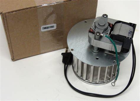 69357000 Broan Nutone Bathroom Blower Motor Vent Fan Wheel