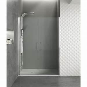 paroi de douche portes battantes helia i robinet and co With porte douche 130