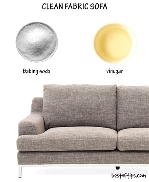 Easy To Clean Upholstery Fabric by How To Clean Fabric Sofa Bestoftips