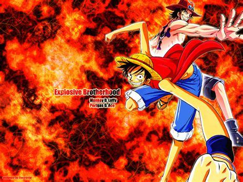 Imagenes De Luffy Y Ace