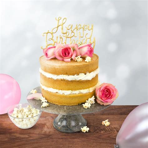 pme cake topper cutter happy birthday script