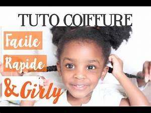 Coiffure Petite Fille Facile : tuto coiffure petite fille facile rapide et girly marciabloem youtube ~ Dallasstarsshop.com Idées de Décoration