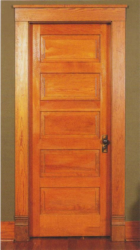 Style Doors by A Typical 5 Light Shaker Style Door Used In Craftsman