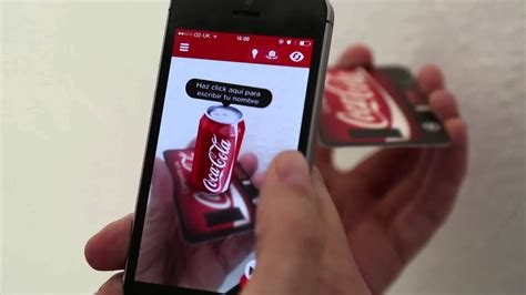 share  coke   mate augmented reality  zappar