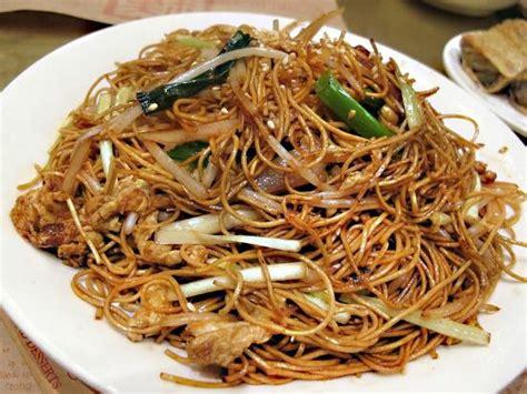 cuisine chinoise mauricienne mine frire au poulet et legumes photo de rougail de l