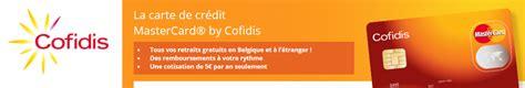 credit cofidis avis carte mastercard cofidis 224 partir de 5 an seulement tr 232 s populaire
