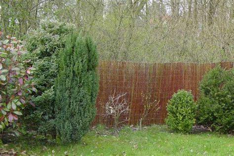 Garten Sichtschutz Weide by Sichtschutzmatten Aus Weide Weideruten F 252 R Den Garten