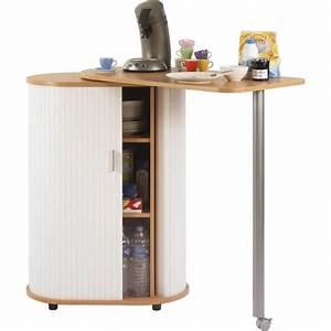 Bar De Cuisine Pas Cher : table de cuisine et rangement h tre blanc achat ~ Premium-room.com Idées de Décoration