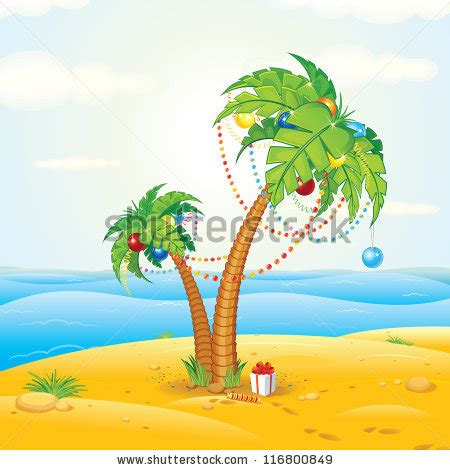 Download Tropical Christmas Wallpaper 1920x1080