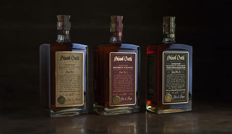 blood oath kentucky straight bourbon david cole creative
