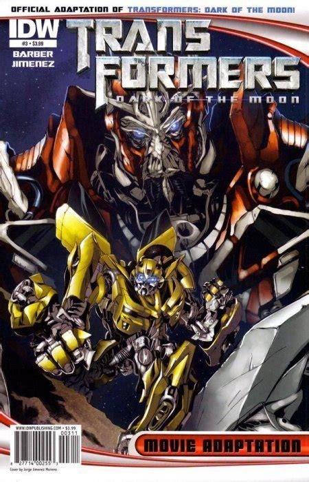 transformers dark   moon  adaptation  idw