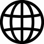Icon Globe Svg Global Vector Icons Location