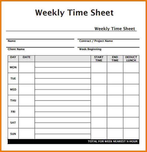 Weekly Timesheet Template Weekly Timesheet Template Authorization Letter Pdf