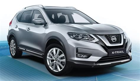 facelifted nissan  trail  wd   acc aeb