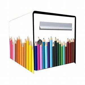 Stickers Bote Aux Lettres Dco Crayons Dcoration