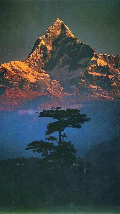 Portrait Landscape Nature Mountain Mountains Himalayas Nepal