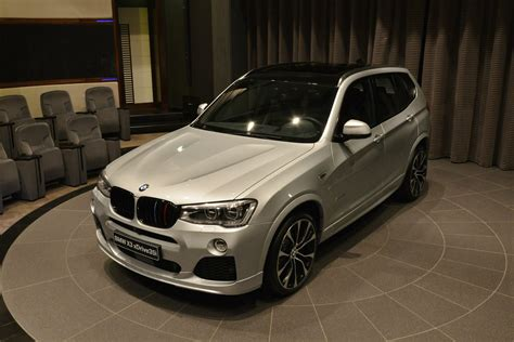 Bmw X3 Accessories by Bmw X3 With M Performance Parts Photos