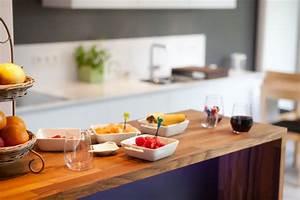 Cuisine En Teck : cuisine bois moderne id es pour un int rieur chaleureux ~ Edinachiropracticcenter.com Idées de Décoration