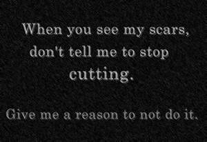 stop cutting | Tumblr