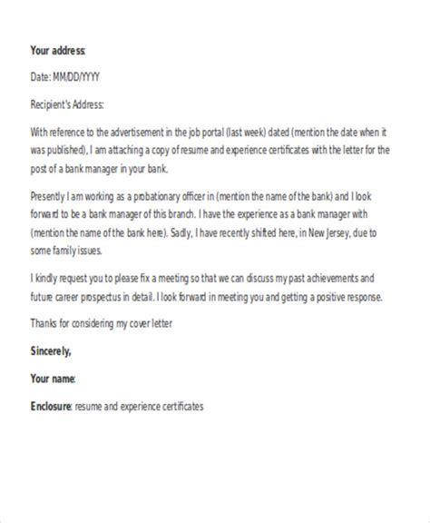 job application letter format  manager sales cover