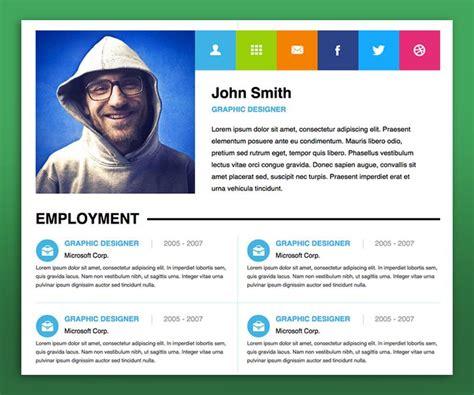 Resume Website by Personal Resume Websites 15 Best Free Resume Cv Website Te