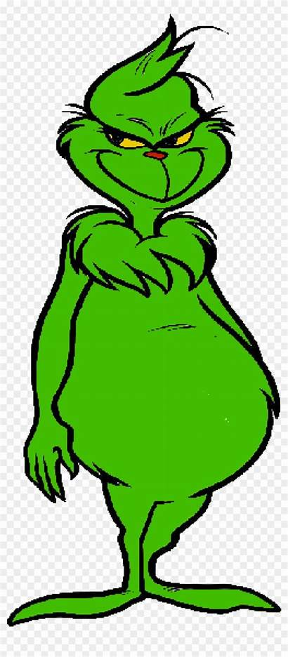 Grinch Template Clipart Christmas Clip Whoville Middle