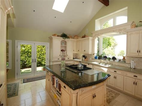 french country kitchen  lots  natural light hgtv