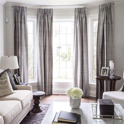 ideas  bay window curtains  pinterest