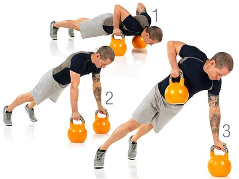 kettlebell push row partner workout exercise leg lunge burn boost passes each watchfit
